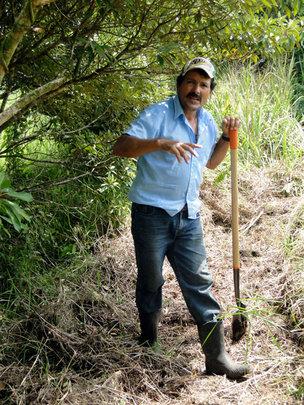 Omar Muñoz, La Reserva field manager