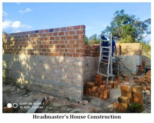 Headmaster's House Construction