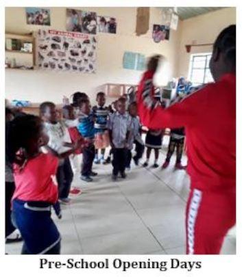 EBZEF Preschool Opening Day