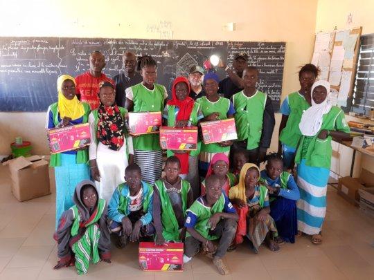 A classroom in Colobane Thiombane, Senegal