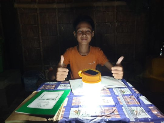 Zin Wai Phyo can now study at night - Myanmar