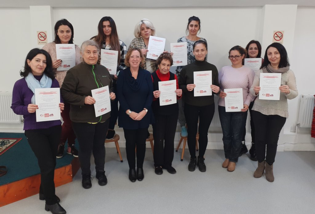 Job Search Skills Course Learners with Certifiates