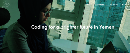 Coding for a brighter future in Yemen