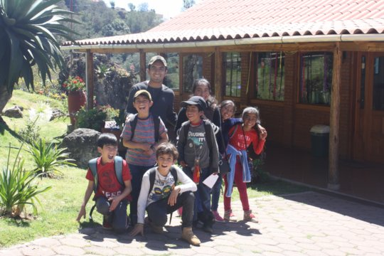 Field trip to a neighboring Village