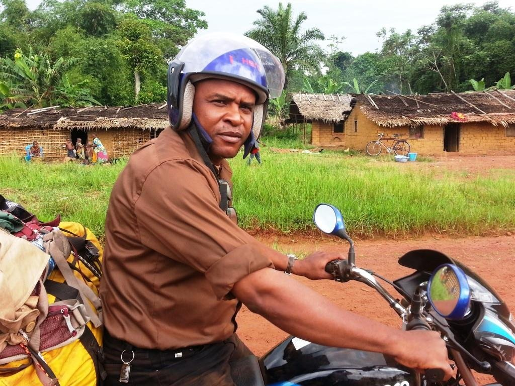 BCI logistics manager on the way to Lilungu