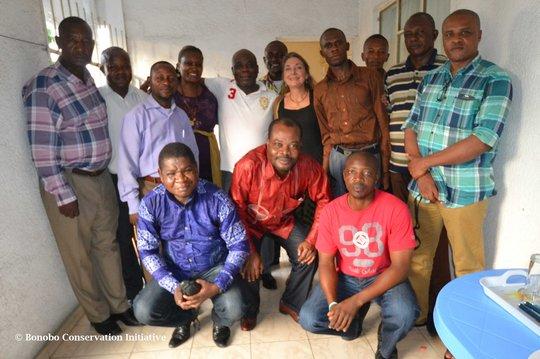 Peace Forest community leaders meeting in Kinshasa