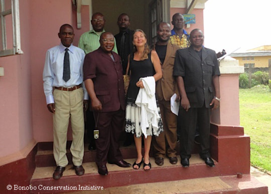 Conservation Concessions meeting in Mbandaka