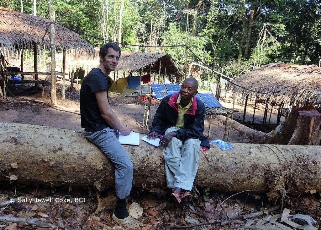 Martin Surbeck and Leonard Nkanga Lolima