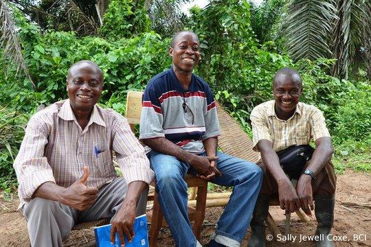 Bofangi, Ndombasi and Afelende at Kokolopori