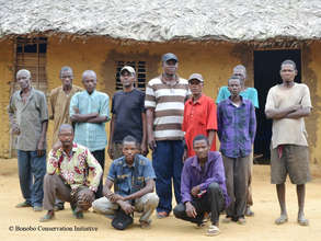 Our tracking team at Lilungu
