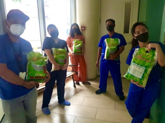 Rice and Food Subsidy for TDF Staff