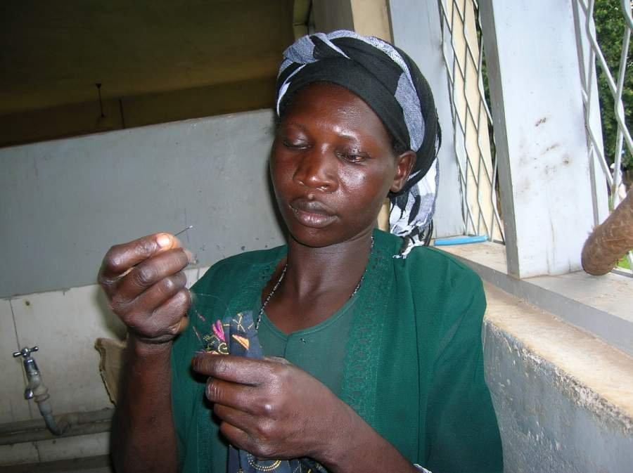 LifeStitches-sewing skills combat AIDS stigma