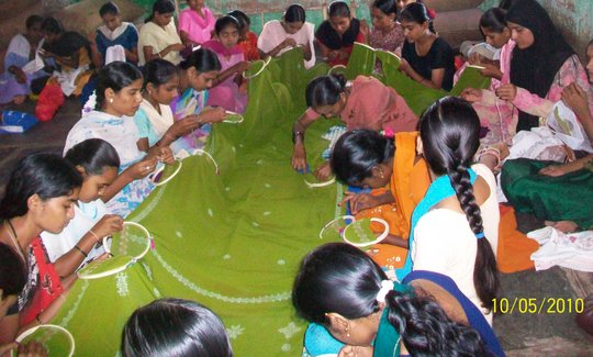 Kashida Training in Hubli