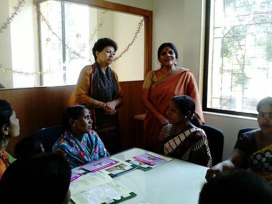 Dr. Asha Kanwar visit to Pune Branch
