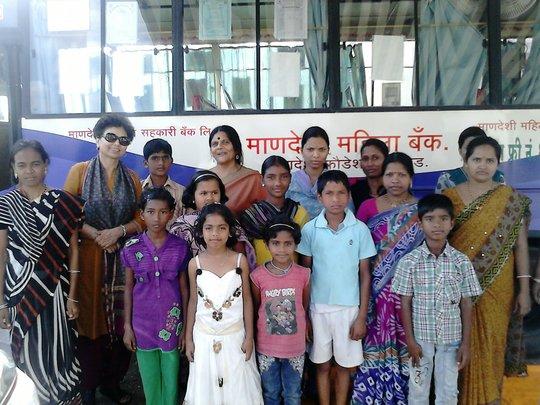 Dr Asha Kanwar visit  to Pune br