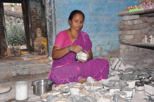 Savita - The Pottery Woman