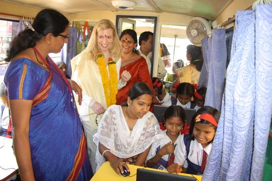 Ms. Lael Brainard, visited Mobile B-School