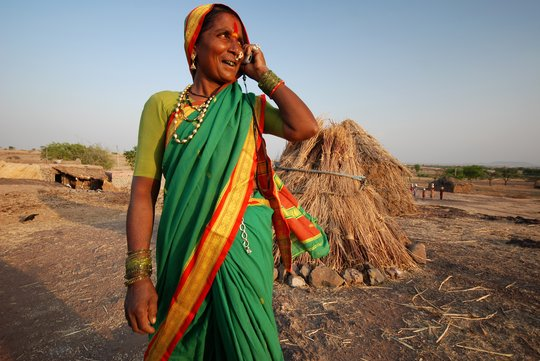 Mann Deshi Entrepreneur using mobile technology