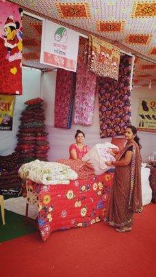 Sheetal at Exhibition