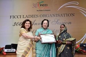 FLO Grassroots Women Entrepreneurship Award winner
