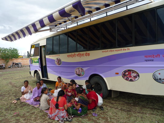 Livelihood courses through B-school on wheels