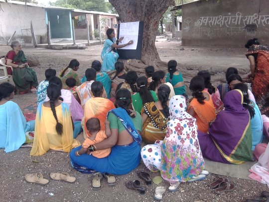 Financial Education at womens doorstep