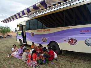 Livelihood courses through B-school on wheels