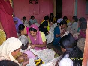 Advance Embriodary Training for rural women