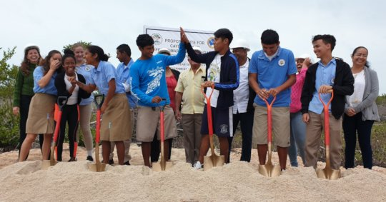 Groundbreaking Ceremony for the new campus