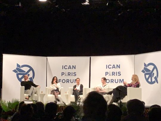 Panel Discussion at the ICAN Forum