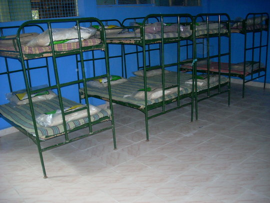 Cots in the New Room