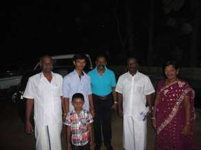 flim actor visit the orphanage