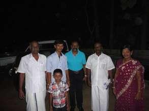 flim actor visit the orphanage