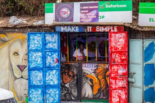 SK Arts Shop started by Uweza Art Gallery artists