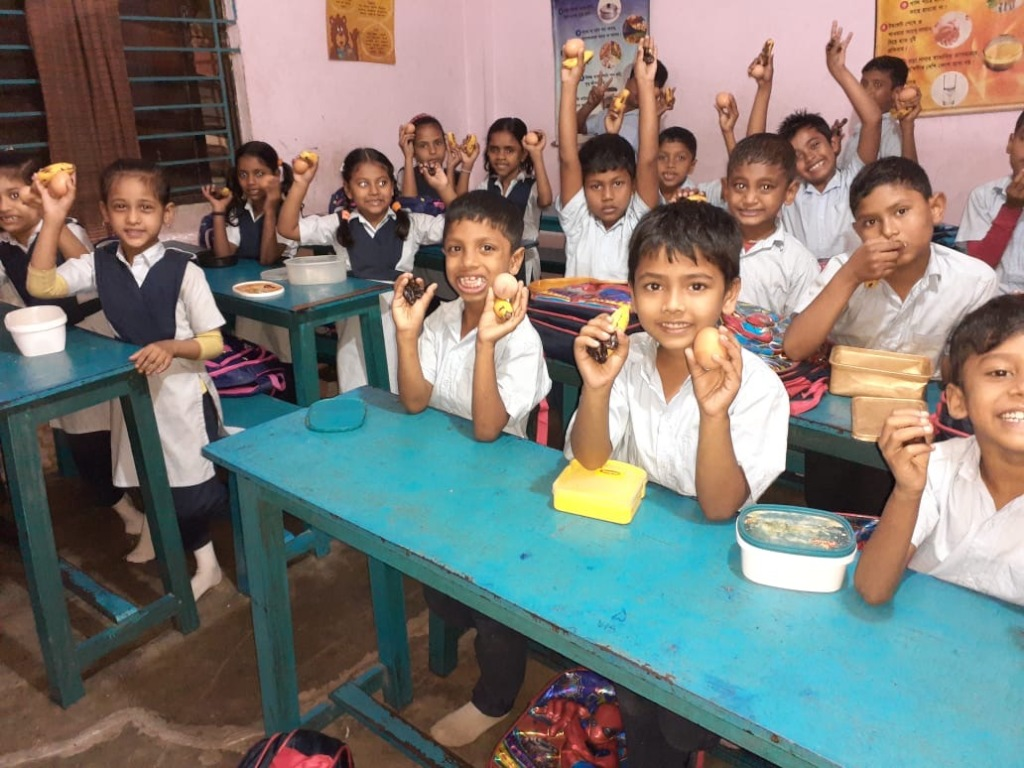 Feed a school in the Dhaka slums for 200 days