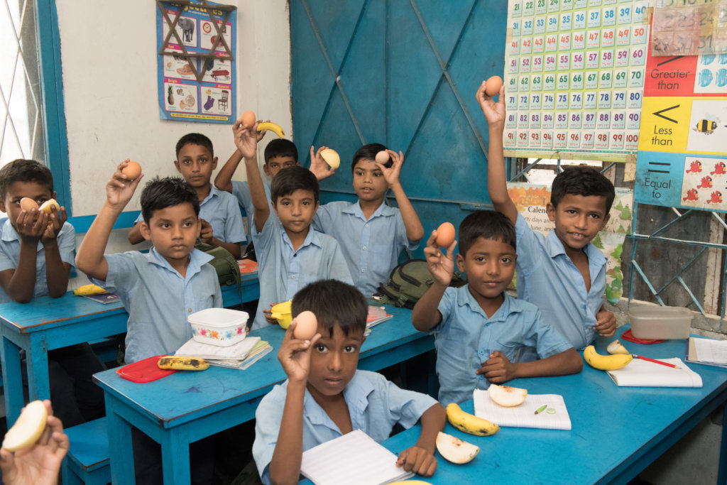 Feed a school in the Dhaka slums for 100 days