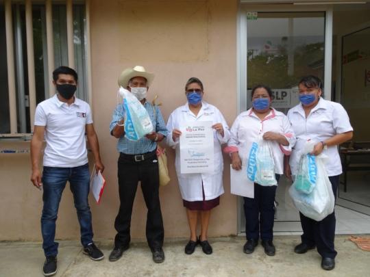 Donating manual respirators / donando respiradores