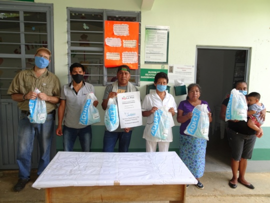 Donating manual respirators /donando respiradores