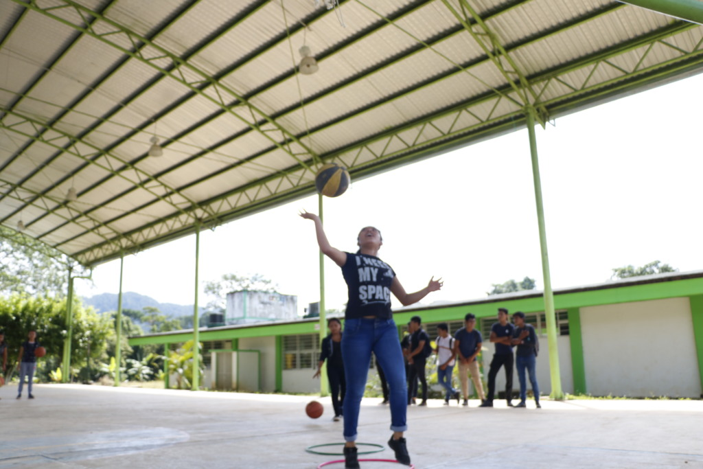 Young Indigenous Women Empowered with Basketball