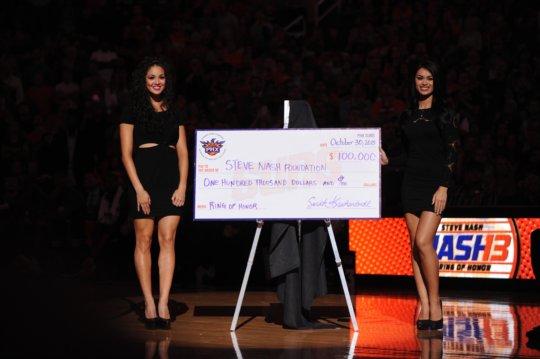 Phoenix Suns Charities Award to Educare Arizona!