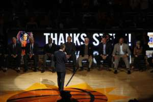Steve's Emotional Address to Suns' Ring of Honor
