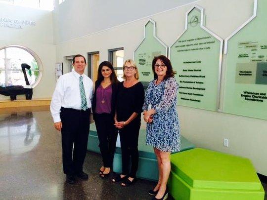 AZ DES's Vicki Mayo Visits Educare Arizona
