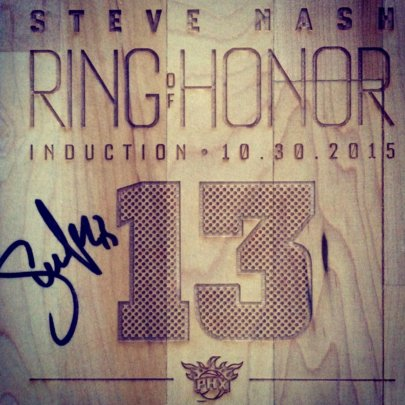 MVP Court - Actual Suns Court, Memorializing #13!