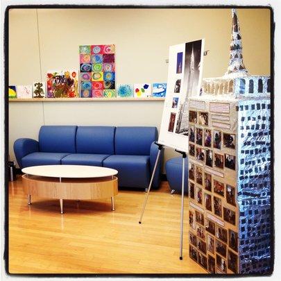 The Foyer at Educare Arizona - Art-chitecture