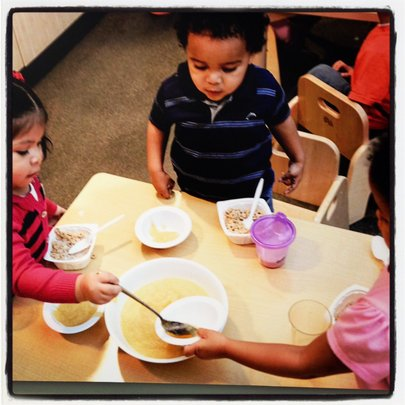 Learning Lunch - from Faces of Educare Arizona