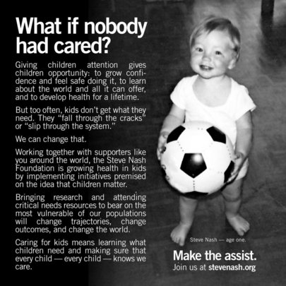 What If Nobody Had Cared?  (Steve)