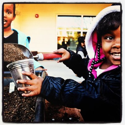 Planting Seeds - from Faces of Educare Arizona