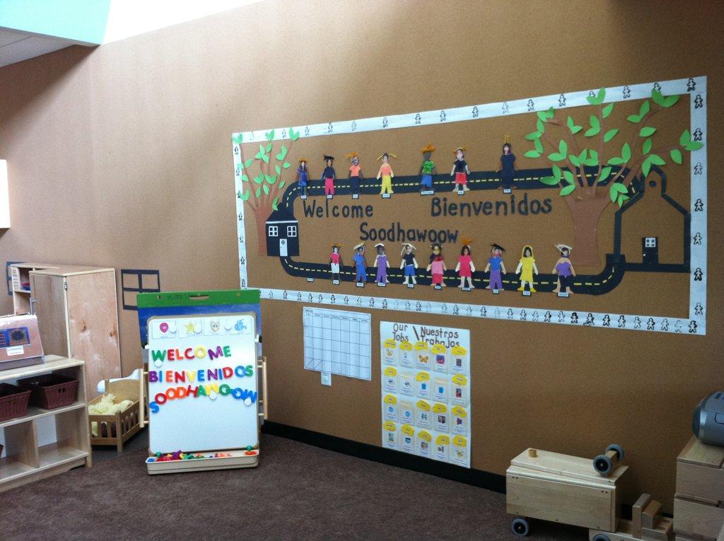 Educare Arizona - a pre-school classroom welcome!