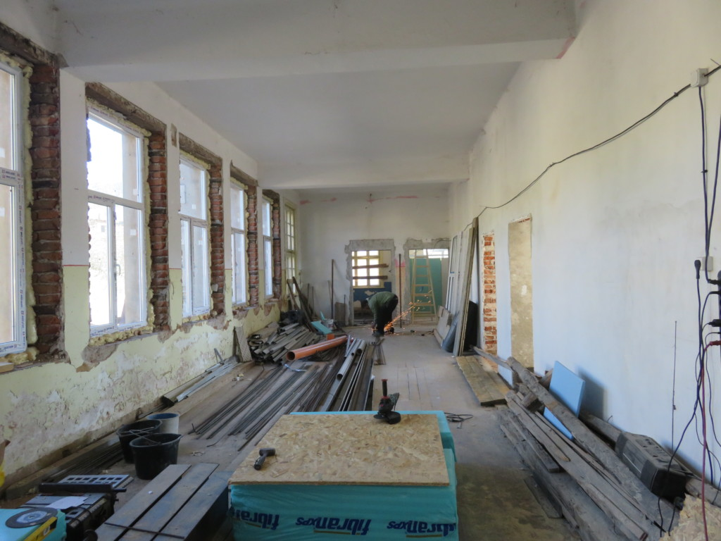 Activity hall 2 (currently in construction)