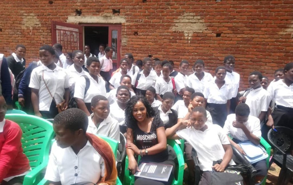 Girls talk conference at Minga secondary